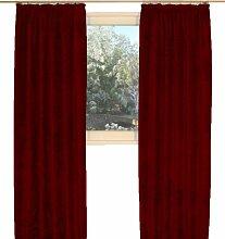 Chenille Wirth Vorhang 245/174 cm viole
