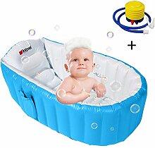 CHENKLE Baby aufblasbare Badewanne, aufblasbare