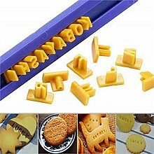 CHENTAOCS DIY Kuchen Alphabet Formen Buchstaben