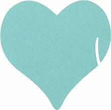 CHENXI Shop 12Herzen Hochzeit Namen Tischkarten Weinglas Cut Perlglanz-Karten Party Zubehör 4
