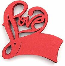 CHENXI Shop 50Love Form Hochzeit Namen
