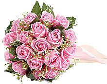 ChenYongPing Brautstrauß Rosen-Braut und