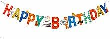 ChenYongPing Weihnachten Banner Birthday Party