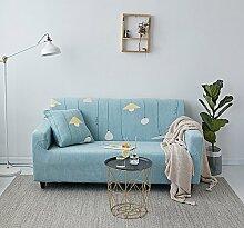 chenyu Sofa Bezug 1234-Sitzer-Bettüberwurf