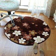Cherry Pink runde Teppiche hängenden Korb Decke