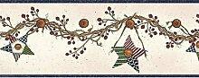 Chesapeake Braun Rebe mit Beeren bunten Sternen