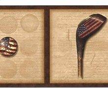 Chesapeake Golf Ball Tees Club mit amerikanische