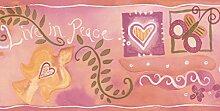 Chesapeake Herzen Frieden weiß und rot rosa
