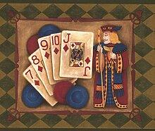 Chesapeake Poker Hands karierten Laurel Vintage