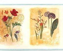 Chesapeake Wallpaper Border helle Wildblumen