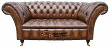 Chesterfield Balmoral 2-Sitzer-Sofa Sofa Antik