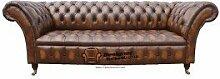 Chesterfield Balmoral 3-Sitzer-Sofa Sofa Antik