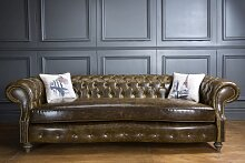 Chesterfield Landhausstil Sofa Wilford Country