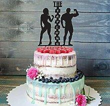 CHEYAN NAME Cake Topper Custom Cake Topper Mr &