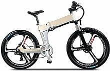 CHEZI bikeFaltendes elektrisches Fahrrad kann