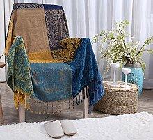 chezmax Geometrische Muster Chenille Couch