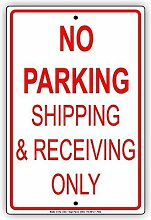 CHI Retro-Metallschilder No Parking Shipping &