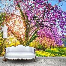 CHI Tapete Fototapete 3D Kirschblüte Baum Große