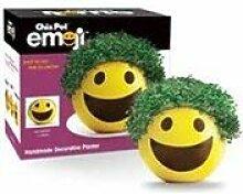 Chia Pet Emoji Übertopf, Smiley