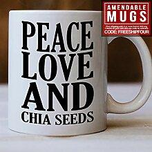 Chia Seed Tasse, Geschenkidee für Chia-Samen