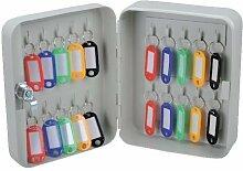 Chiave Cabinet Grigio Metal Box Mobile contenitore