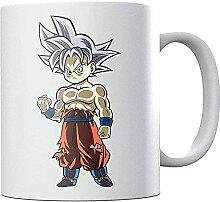 Chibi Go-ku Dra-gon Ba-ll Z Ceramic Coffee Mug Tea