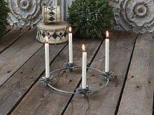 Chic Antique Kerzenständer Leuchter Adventskranz