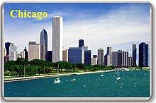 Chicago/Fridge/Magnet. - Kühlschrankmagne