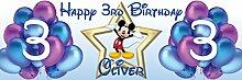 Chicbanners Personalisierbares Geburtstags-Banner