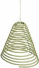 CHICCIE Grüne Zitronella Räucherspirale zum Hängen - Insektenschutz Mückenschutz Citronella