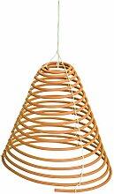 CHICCIE Orange Zitronella Räucherspirale zum Hängen - Insektenschutz Mückenschutz Citronella