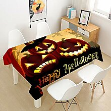 Chickwin Halloween Tischdecke - Abwaschbar