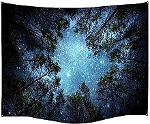 CHICOLY Forest Starry Sky/Tag und Nacht