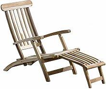 CHICREAT Teakholz Deckchair Liege Gartenliege