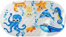 ChicSoleil Rutschfest Baby Badematte PVC mit