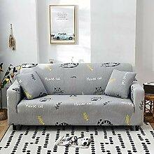 ChicSoleil Sofa Überwürfe 1/2/3/4 Sitzer