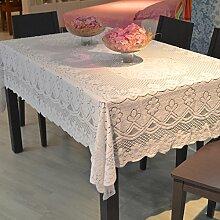 Chiffon Tuch/Spitzen Sie Tischdecke/Esstisch Tuch/Staub Tuchgewebe Handtuch-A 80x140cm(31x55inch)