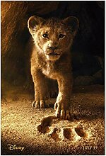 Chihie Der König der Löwen Filmplakat Wandkunst