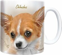 Chihuahua - Sepia - Mug - Becher - Chopes