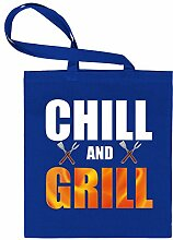 CHILL AND GRILL 6132 Stoffbeutel (Blau)