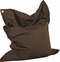 Chill Zone Brown 11 Sitzsack, Big Sitting Bag 140 x 180 cm
