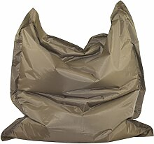 Chill Zone Light brown 12 Sitzsack, Sitting Bag Strong nylon 135 x 160 cm