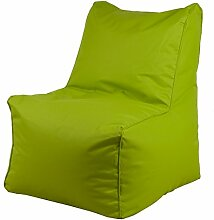 Chill Zone Lime 6 Sitzsack, Pazzel Medium Oxford 95 x 72 x 35/61 cm