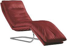 Chilliano LIEGE Echtleder Rot , Leder, 1-Sitzer,
