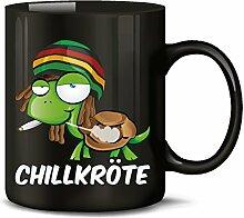 Chillkröte 5058 Tasse Becher Kaffeetasse