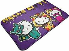 Chimmy95 Tür Fußmatte Hello Kitty und Mimmy