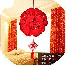 China Fu Buchstaben, Laterne, Chinesische