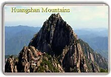 China/Huangshan/Mountains/fridge magnet..!!! - Kühlschrankmagne