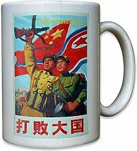 China Nordkorea Korea Werbung Werbeplakat - Tasse