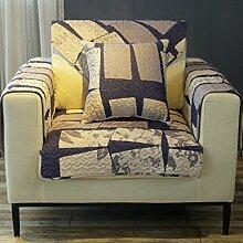 China Palaeowind Einfache, Moderne Reine Baumwollkissen Sofakissen Rutsch,Color-110*180